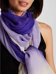 Celestial Silk Wool Gauze Scarf - Eileen Fisher