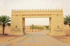 Einfahrt Qasr Al Sarab