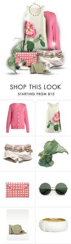 """""""Roses are Pink"""" by rockreborn ❤ liked on Polyvore featuring Toga, Abercrombie & Fitch, Kayu, L'Autre Chose and Ted Rossi"""