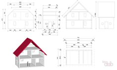 Схема кукольного дома.