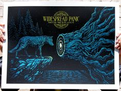 Todd Slater's Widespread Panic Poster