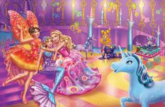 Barbie 2000, Mattel Barbie, Barbie Cartoon, Barbie Fairytopia, Princess And The Pauper, 12 Dancing Princesses, Barbie Images, Disney Fine Art, Barbie Movies