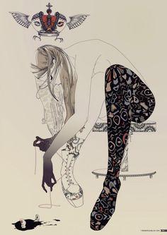 Fashion Illustrations by Yana Moskaluk