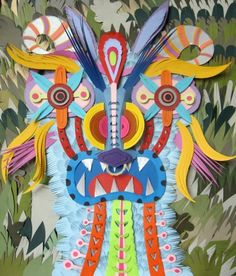 Artwork by Michael Velliquette Paper Cutting, Cut Paper, Paper Artist, Art Lessons, Contemporary Art, Art Gallery, Sculpture, Aqa, Artwork