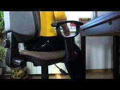 Ergonomia - prawidłowa pozycja przy komputerze - YouTube