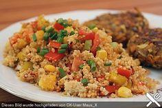 Couscous - Salat lecker würzig, ein tolles Rezept aus der Kategorie Snacks und kleine Gerichte. Bewertungen: 424. Durchschnitt: Ø 4,5.
