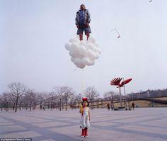Li Wei desafía a la gravedad