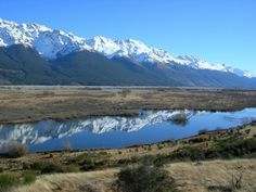 Glenorchy and Cardrona, New Zealand. Taken by a Kiwi Experience passenger.