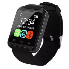 2016 Bluetooth Smart Uhr Bluetooth-telefon Uhren fitness tragbare armband armband männer frauen smartwatch sync android telefon //Price: $US $19.00 & FREE Shipping //     #meinesmartuhrende