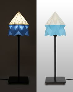 Cubify | Origami Lampshade on Behance / admired by http://www.truelatvia.com