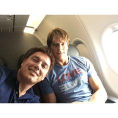 "John Barrowman MBE's image - ""Next flight @AmericanAir to @DragonCon #DragonCon #DragonCon2015 Jb"" on WhoSay"