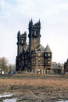 Abandoned Gartloch Mental Hospital (now demolished) was open in 1896 and closed in 1996. The main administration building still remains and is popular destination for urban explorers.  It located on the outskirts of Glasgow, in a village called Gartcosh it served the area for 100 years.Photo: flickr.com