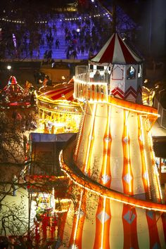 Hyde Park Winter Wonderland from http://LondonTown.com