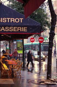Paris in the rain!  ASPEN CREEK TRAVEL - karen@aspencreektravel.com