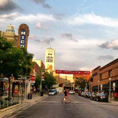 Take a stroll through downtown Ann Arbor