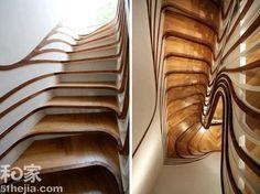 LOFT創意銜接10種另類樓梯設計