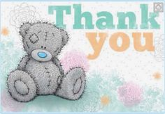 Thank You. Tatty Teddy Teddy Bear Quotes, Teddy Bear Images, Teddy Bear Pictures, Blue Nose Friends, Friends In Love, Teddy Beer, Bear Graphic, Beautiful Fantasy Art, Tatty Teddy