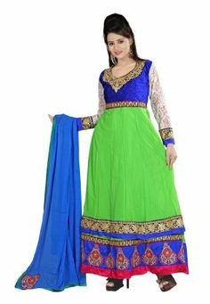 Fabdeal Indian Designer Pure Georgette Green Embroidered Salwar Fabdeal, http://www.amazon.de/dp/B00IRB77U0/ref=cm_sw_r_pi_dp_6D8otb0X8NPD3