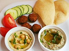 baba ghanoush - nothing better than homemade hummus & baba to make a good healthy plate of comfort food.