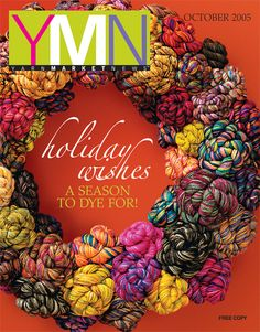 Koigu KPPPM on the front cover YMN 2005