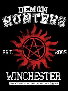 DEMON HUNTERS T-Shirt $12 Supernatural tee at Once Upon a Tee!