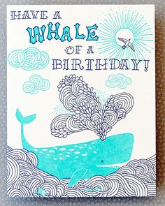 Lucky Friday # 77, Whale of a Birthday | Hello!Lucky Blog