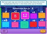 Interactive games looking at MULTIPLICATION & DIVISON for ages 7-11