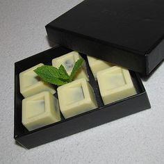 Zázvorové bonbony s bílou čokoládou a citronem
