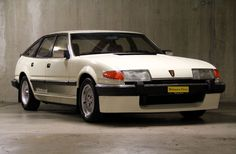 Rover SD1 3500 V8 in Vitesse trim. A very British muscle car in it's day.
