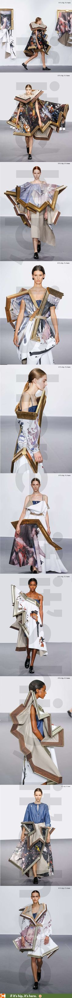 Viktor & Rolf 2015 Looks like this would be VERY UNCOMFORTABLE, LOL! jαɢlαdy