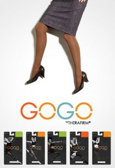 WAS: $24.99   Now: $9.98 : GOGO by Therafirm light support gradient compression energizes tired legs and feet for a comfortable fit all day long! Everyday and fashionable colors available.
