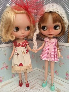 My pretty doll family... by MagnóliA ♥, via Flickr