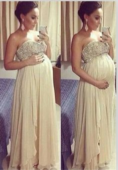5be6b6d493a44 11 Best Maternity wedding gown images in 2016   Godmothers ...