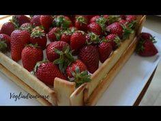 Torta cassetta di fragole - YouTube
