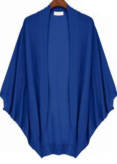 To find out about the Blue Batwing Sleeve Oversize Loose Cardigan at SHEIN, part of our latest Sweaters ready to shop online today! Fashion Wear, Diy Fashion, Fashion Outfits, Mode Kimono, Dress Outfits, Casual Outfits, Blouses For Women, T Shirts For Women, Clothing Hacks