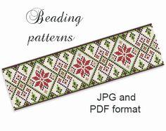 Bracelet Pattern Loom Pattern Loom by BeadingBeeTutorials