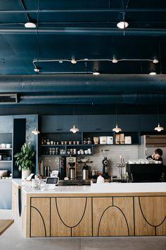 Hottest New Café Openings Across the Globe Coffee Bar Design, Coffee Shop Interior Design, Restaurant Interior Design, Pub Decor, Cafe Restaurant, Modern Restaurant, News Cafe, Commercial Interiors, Decoration