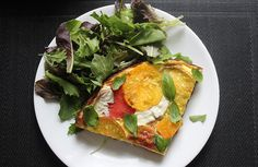 Heirloom Caprese Strata | Here's What You Should Eat For Dinner