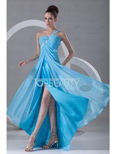 sky blue dress #prom #blue #sexy