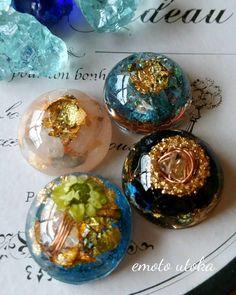 樹脂と金属の神秘的なパワーで幸せに♡手作りオルゴナイト作品集♪ | Handful