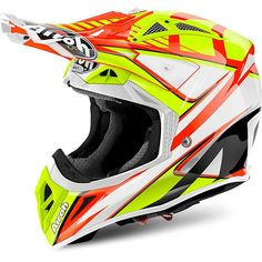 Aviator represents the evolution of the Aviator the champion helmet with which Airoh® has soared to the top spot of the podium in off-road disciplines. Off Road Helmets, Scooter Helmet, Dirt Bike Gear, Motocross Helmets, Motorcycle Gloves, Motorbikes, Aviation, Biker, Orange