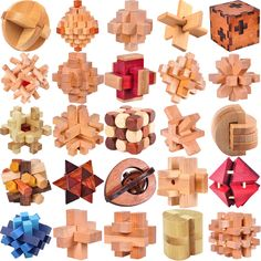 Clásico Rompecabezas de Madera IQ Mente Rompecabezas Burr Puzzles Juegos Juguetes para Adultos Niños en Rompecabezas de Juguetes y Pasatiempos en AliExpress.com | Alibaba Group