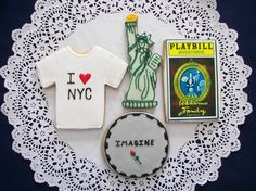 New York City Cookies by ruthiescookies on Etsy, $48.00