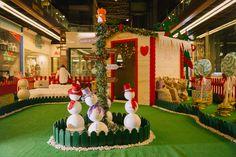 Casita de los Elfos Area Central. #hechoamano #navidad2017