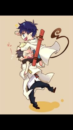 Bonrin Blue Exorcist Credits to the artist
