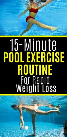 15-Minute Pool Exercise Routine For Rapid Weight Loss – Diy Health Plans