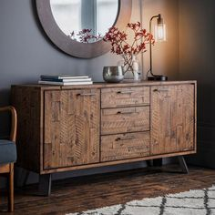 Buy Camden 2 Door 3 Drawer Rustic Sideboard online from our Style Our Home. See our other Frank Hudson/Gallery Direct products. - March 24 2019 at Solid Wood Sideboard, Rustic Sideboard, Narrow Sideboard, Dining Room Sideboard, Side Board, Sideboard Dekor, Interior Barn Doors, Wood Doors, Home And Living