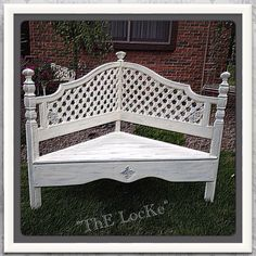 Shop for bench on Etsy, the place to express your creativity through the buying and selling of handmade and vintage goods. Foyer Bench, Bench Decor, Antique Bench, Vintage Bench, Young Woman Bedroom, Crib Bench, Wedding Bench, Country Bench, Cottage Chic