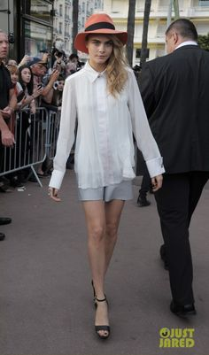 Cara Delevingne Cannes France May 21 2014