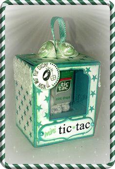 PaperPlotterLottas - CraftChaos: Mini Tic Tac - Geschenkebox